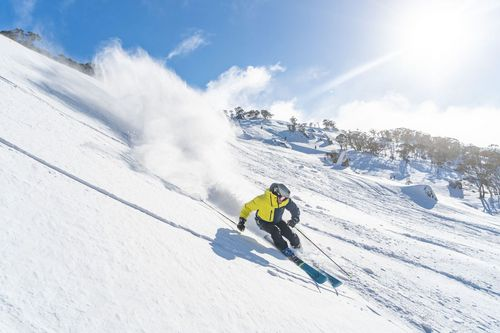 The country's snow depth has increased for a third consecutive week. Picture: Perisher