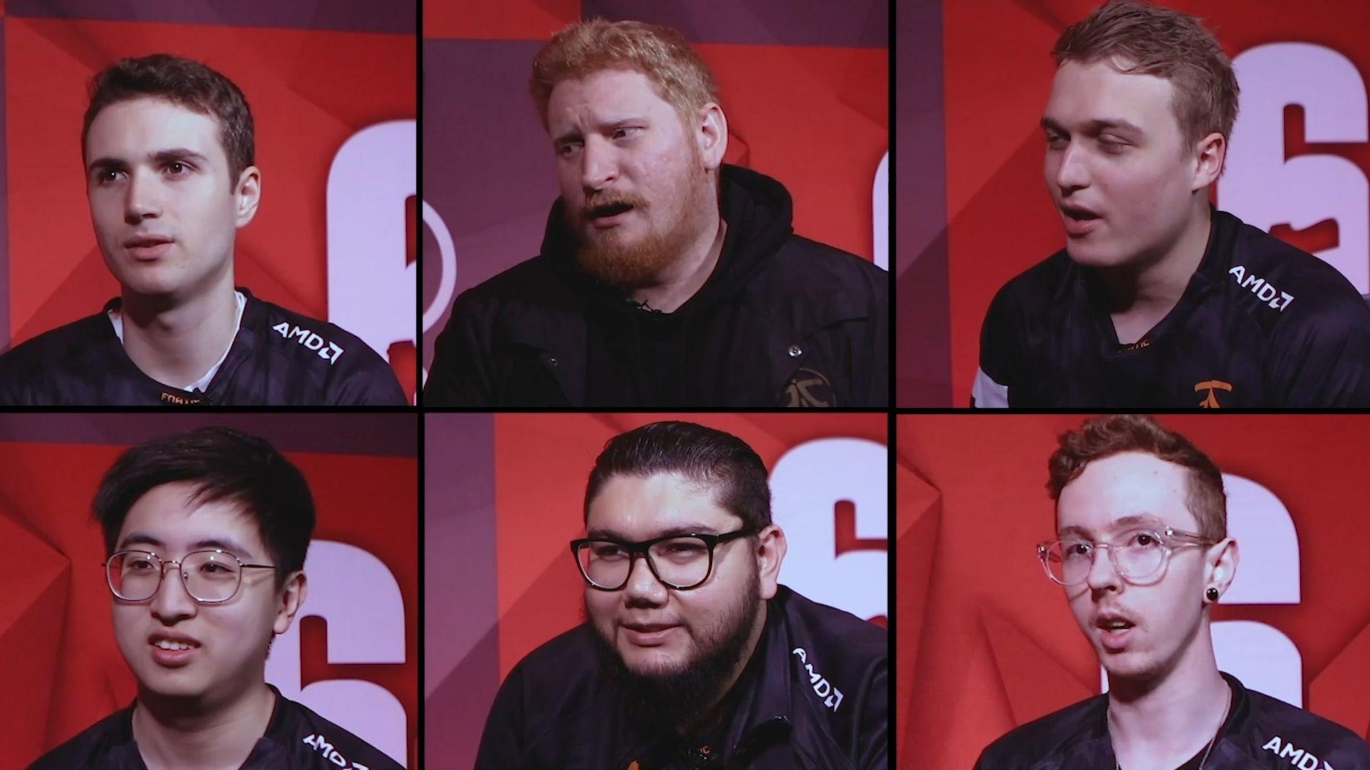 Rainbow Six Siege professional gamers team FNATIC