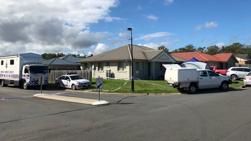 Neighbours said they heard the gunshot just after 9pm on Monday night. (9NEWS)