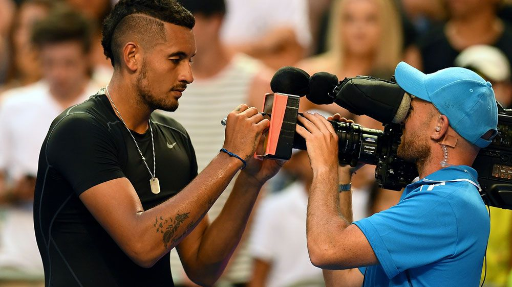 Tennis needs 'wild horse' Kyrgios: Courier