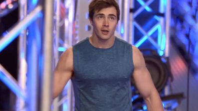 Jake Baker turned heads as he took on the Australian Ninja Warrior course.