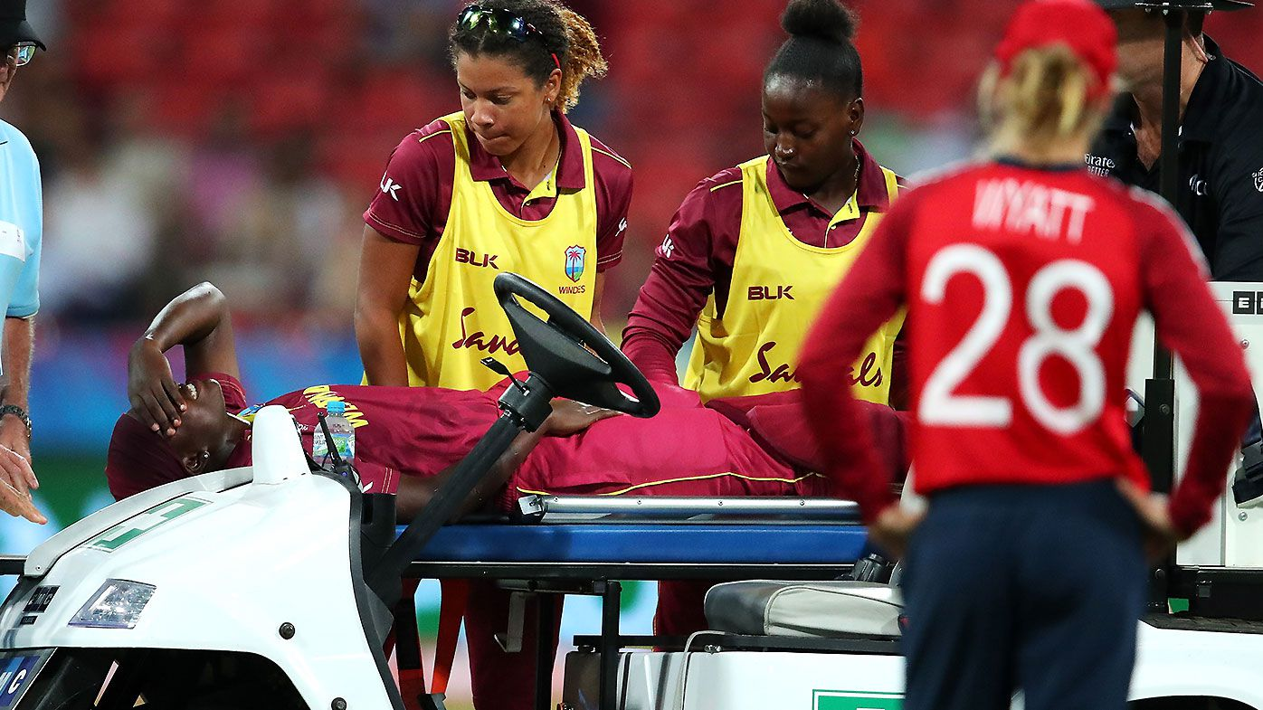 West Indies eliminated from Women's T20 World Cup after captain Stefanie Taylor's injury results in defeat