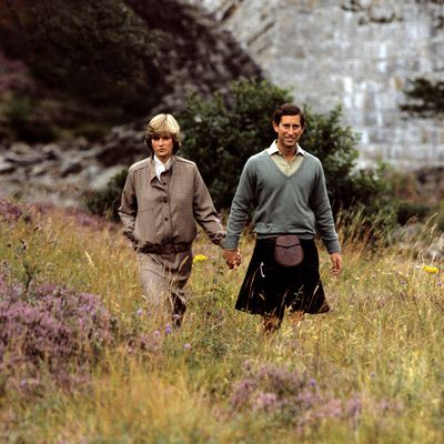 1981: Charles and Diana spent some of the honeymoon at Balmoral.