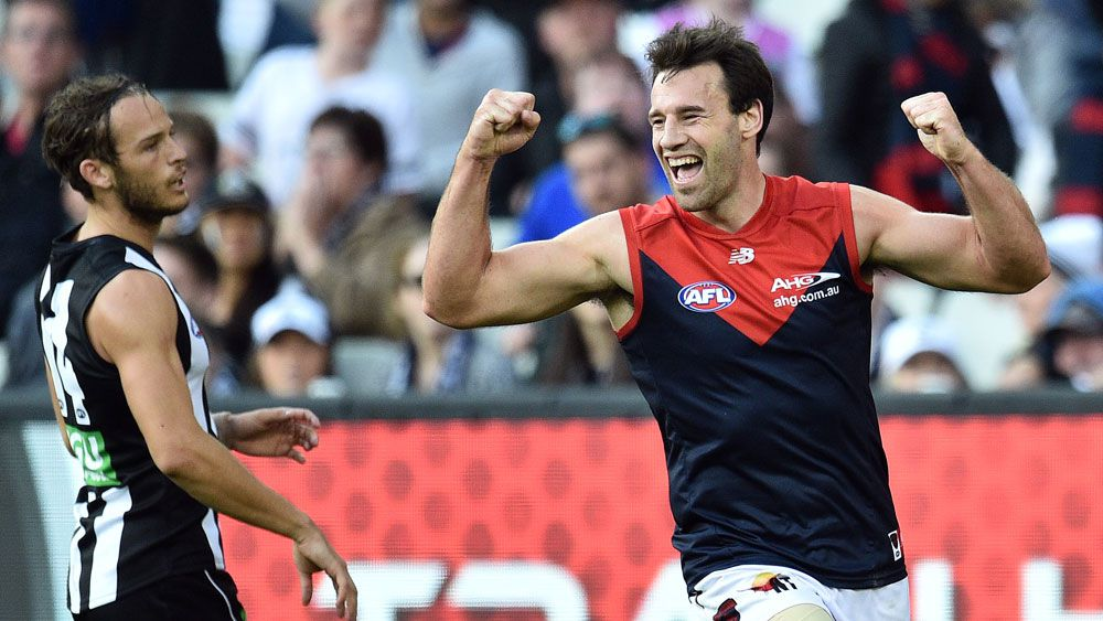 Demons shock Magpies in AFL