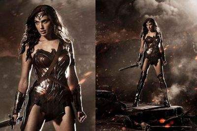 <i>Batman v Superman: Dawn of Justice</i> director Zack Snyder teased the first look at Gal Gadot as Wonder Woman.