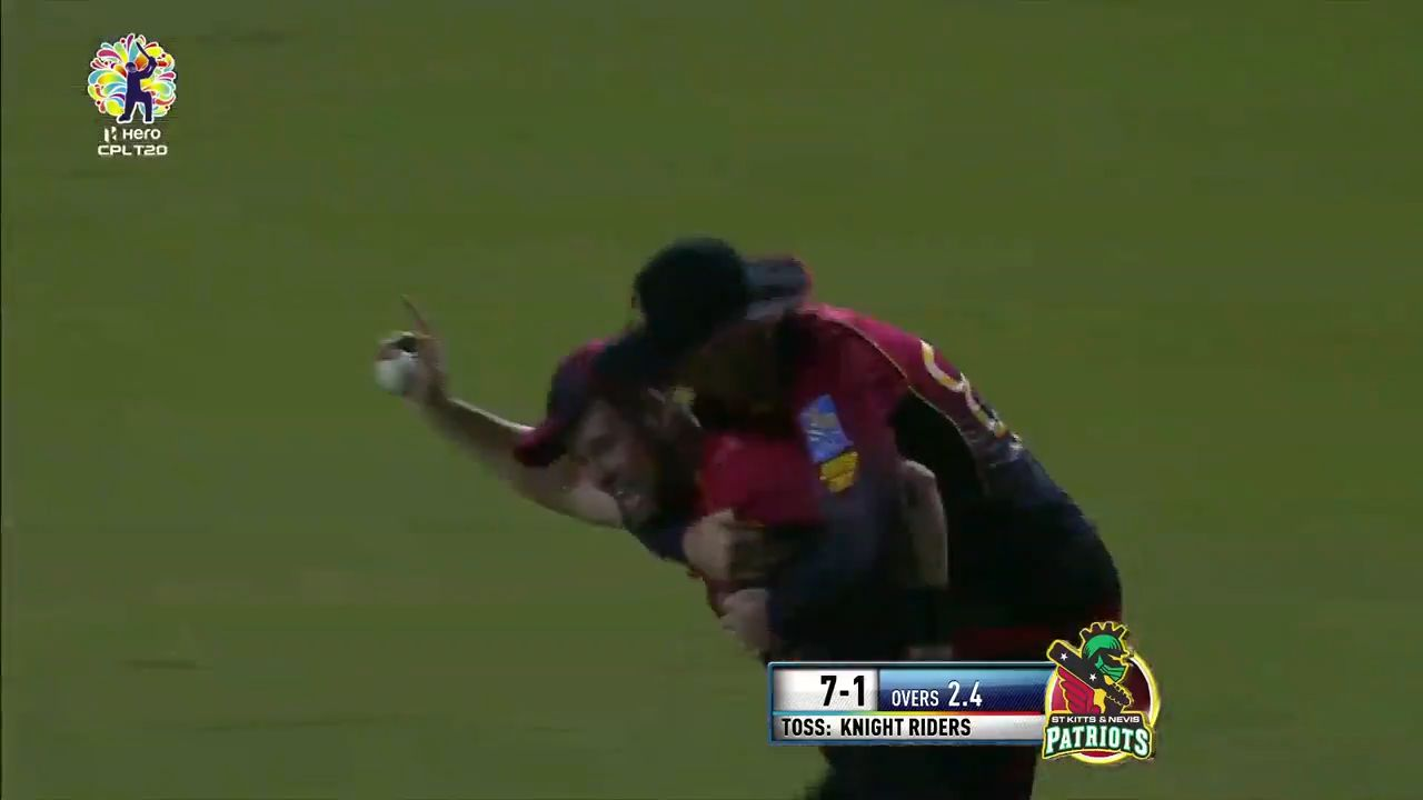 Christian takes classic catch in CPL
