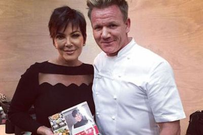 Kim's not the only Kardashian who likes to alter her snaps!<br/><br/>Kris Jenner recently posed with celebrity chef Gordon Ramsay, who then posted the <I>unedited</I> image here on his Instagram account...