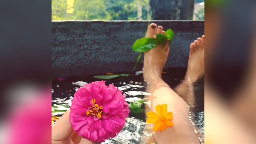 Kawa baths in the Philippines