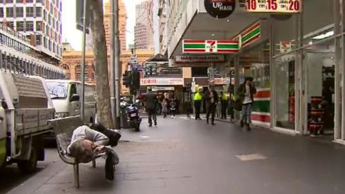 The upgrade is expected to target problems occurring from an increase of people sleeping rough in the precinct. (9NEWS)