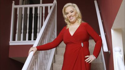 Mama June sizzles in red-hot lingerie months after debuting 136-kilo weight loss