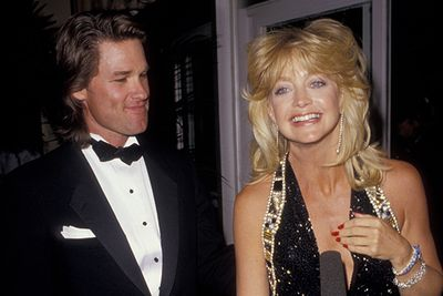 One of Hollywood's longest running couples, Goldie and Kurt have spent many an awards season on the carpet together, including their first stint in 1991.  We want to be friends with these two!
