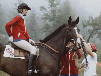 Princess Anne at the 1976 Olympic Games