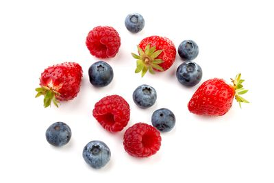 Eat: Blueberries and strawberries