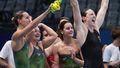 Australia stuns the world to take 100m medley relay