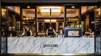<strong>Bistro Guillaume Sydney take away counter</strong>