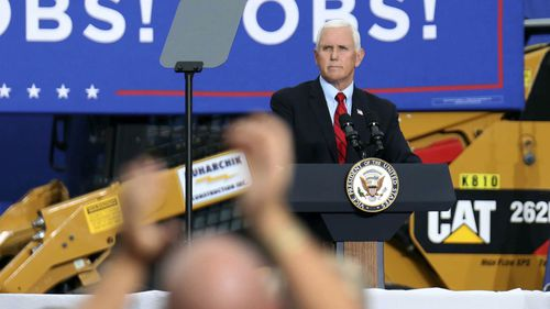 Vice President Mike Pence said he does not recall being asked to be prepared to assume office while Donald Trump underwent an operation.