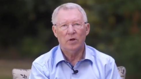Sir Alex Ferguson thanks doctors after health scare in touching video message