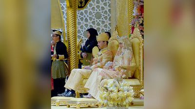 Prince Malik is the youngest child of the Sultan and wife, Queen Saleha, and is second in line to the throne. (Supplied: Information Department Brunei)