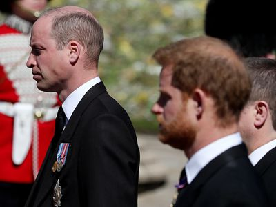 Prince Harry and Prince William come face-to-face