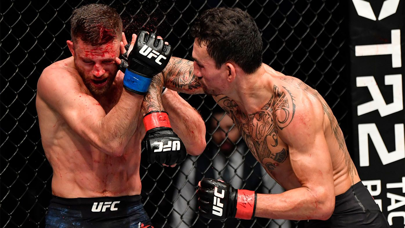 'One of the craziest' fights: UFC superstar Max Holloway obliterates Calvin Kattar, long list of records in brutal Fight Island display