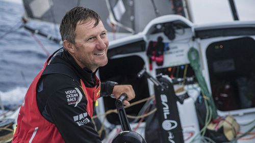 Tributes are flowing for missing Adelaide-based sailor John Fisher who went overboard on a yacht in the Atlantic Ocean during a race on Monday. Picture: AAP.
