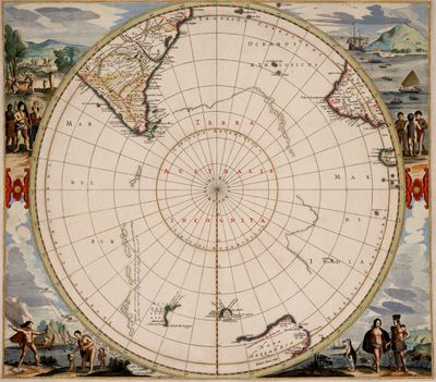 Hendrik Hondius map, 1657