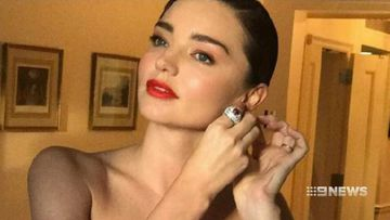 Miranda Kerr hands over $11m of jewellery to US authorities