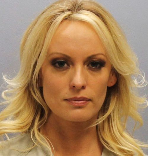 Stormy Daniels was released after posting bail. Picture: AAP