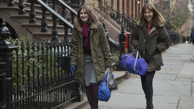 Emily Mortimer and Dolly Wells star in 'Doll & Em.'