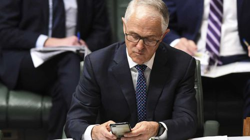 Former prime minister Malcolm Turnbull has entered the Wentworth by-election fray in an unexpected way - via social media.