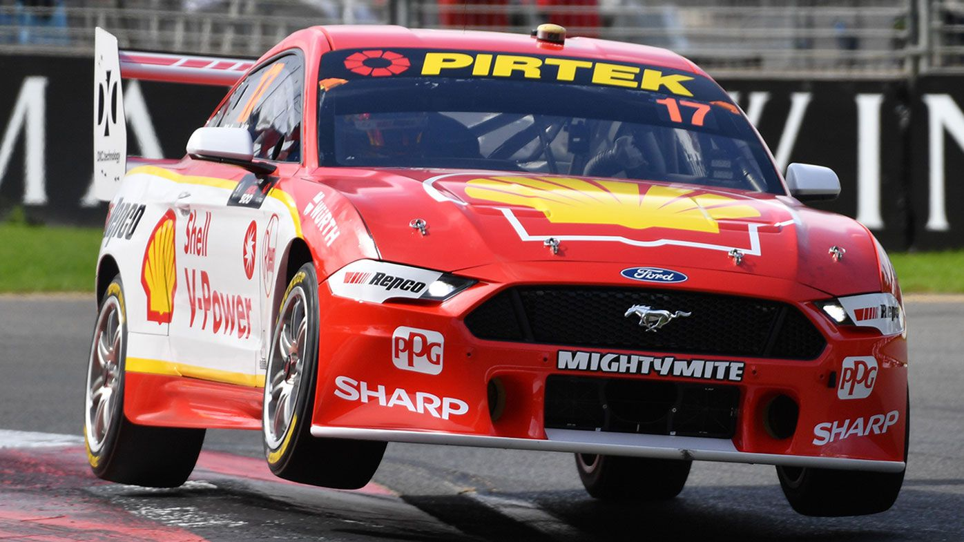 Ford Mustang driver Scott McLaughlin