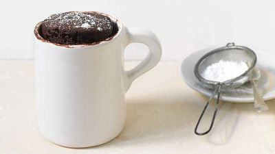 "Recipe: <a href=""http://kitchen.nine.com.au/2017/08/10/16/43/five-minute-chocolate-cake-in-a-mug"" target=""_top"">Five minute chocolate cake in a mug</a>"
