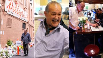 Seat left empty for 'father of café culture'
