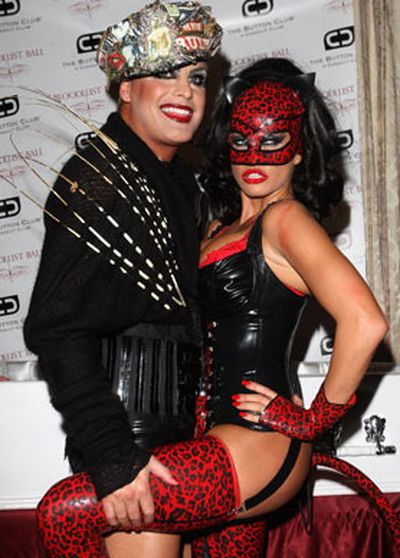 Every day is Halloween when you're Katie Price.