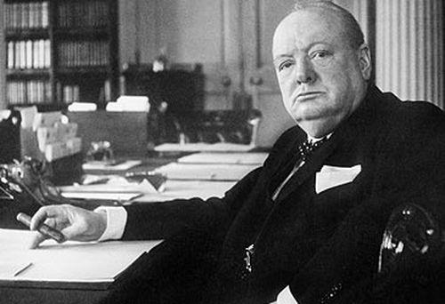 Winston Churchill in 1940 (Getty)