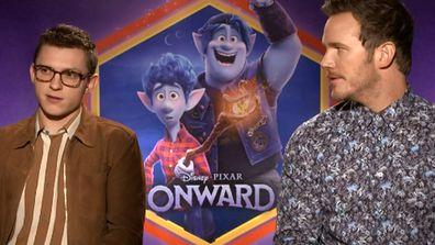 Avengers stars Pratt and Holland reunite