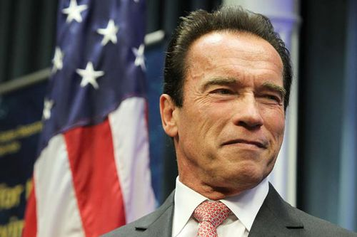 Schwarzenegger calls climate change 'the issue of our time'