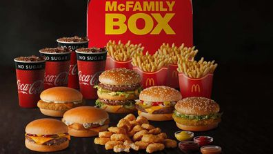 McFamily Box feeds everyone for a fun Father's Day