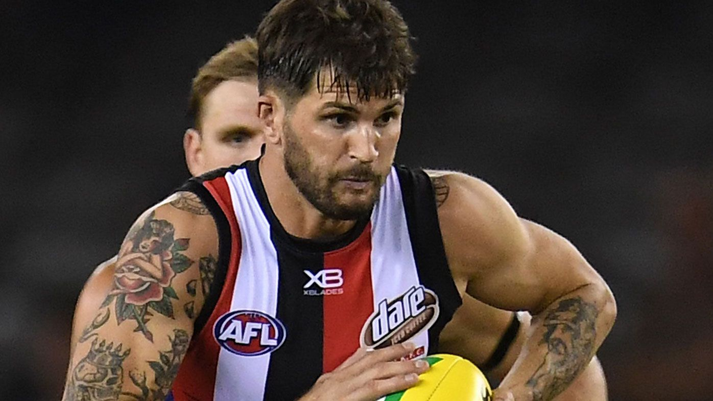 Concussions force St Kilda midfielder Koby Stevens into premature AFL retirement