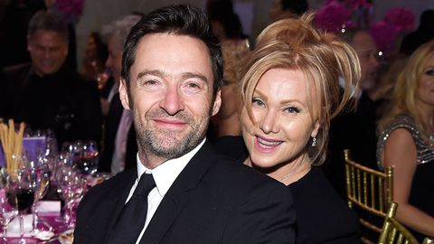 Hugh Jackman and Deborra-Lee Furness attend 2016 Angel Ball.