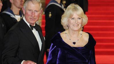 Prince Charles Camilla Duchess of Cornwall Royal movie premiere 2