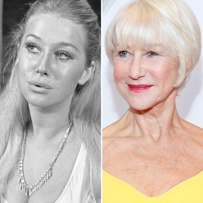 Helen Mirren: 1968 and 2019