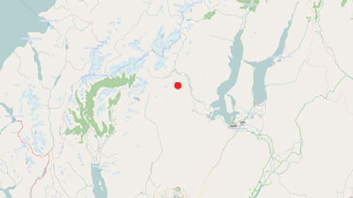 The epicentre of the quake was near Wanaka on New Zealand's South Island. (GeoNet)