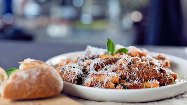Nonna Pina's five-hour pasta con ragu