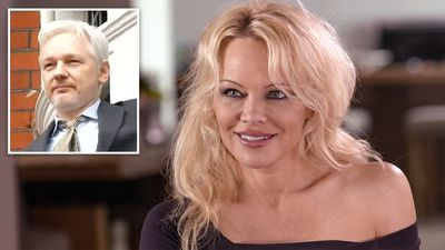 Pamela Anderson reveals her 'romantic struggle' with Wikileaks' Julian Assange