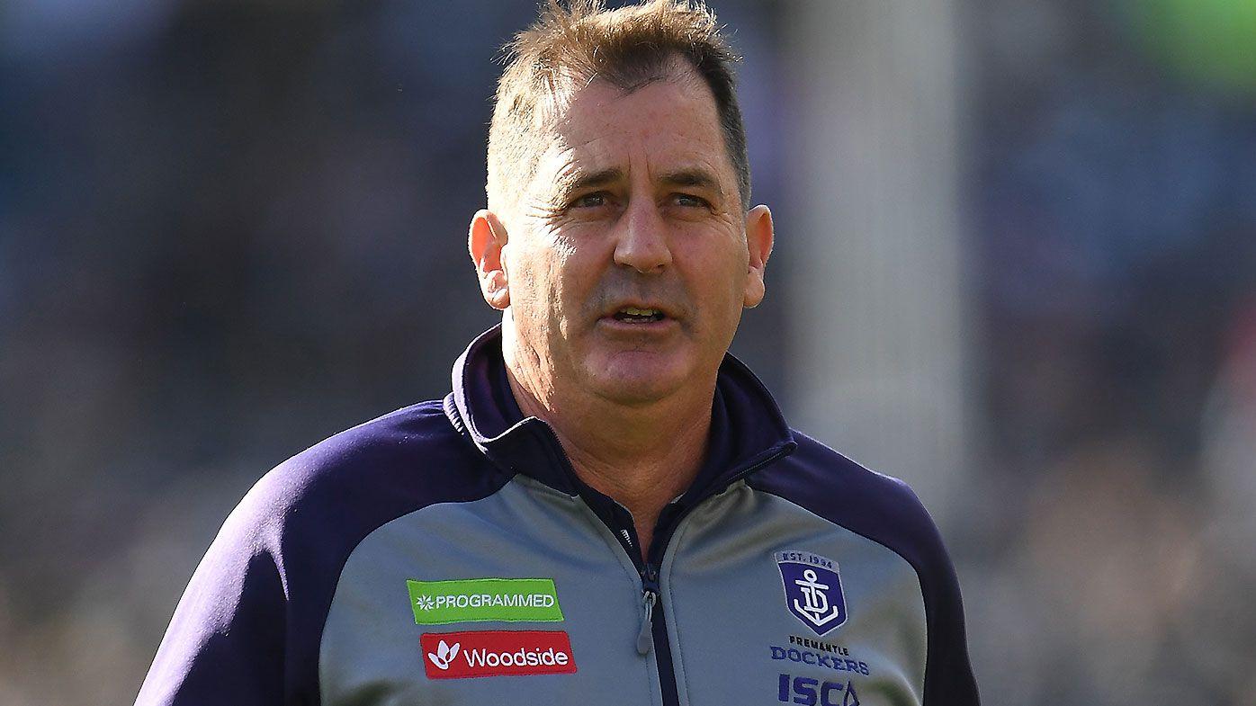 Kane Cornes slams Ross Lyon for Fremantle Dockers list management
