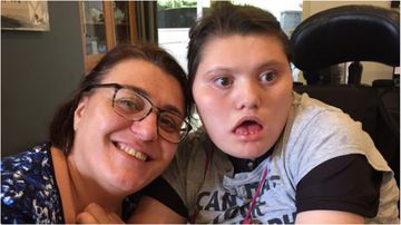 Nella Nisco has argued that her severely disabled daughter's respite carer was warned of her rubber glove fixation prior to the teens choking death.