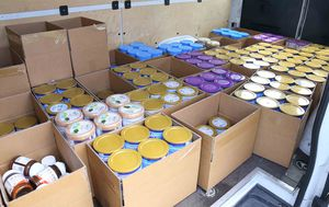 Police bust 100k of stolen pharmaceuticals, including 1350 tins of baby formula