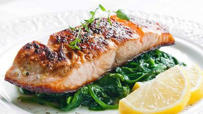 "<p><a href=""http://kitchen.nine.com.au/2017/03/30/10/53/teriyaki-salmon"" target=""_top"">Teriyaki salmon</a></p> <p><a href=""http://kitchen.nine.com.au/2016/06/06/21/40/hook-into-these-succulent-seafood-dishes"" target=""_top"">More seafood</a></p>"
