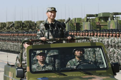 China is looking to continue flexing its muscle in the South China Sea.
